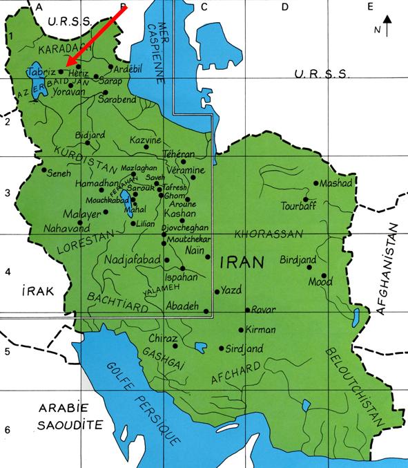 Carte Tabriz Blog